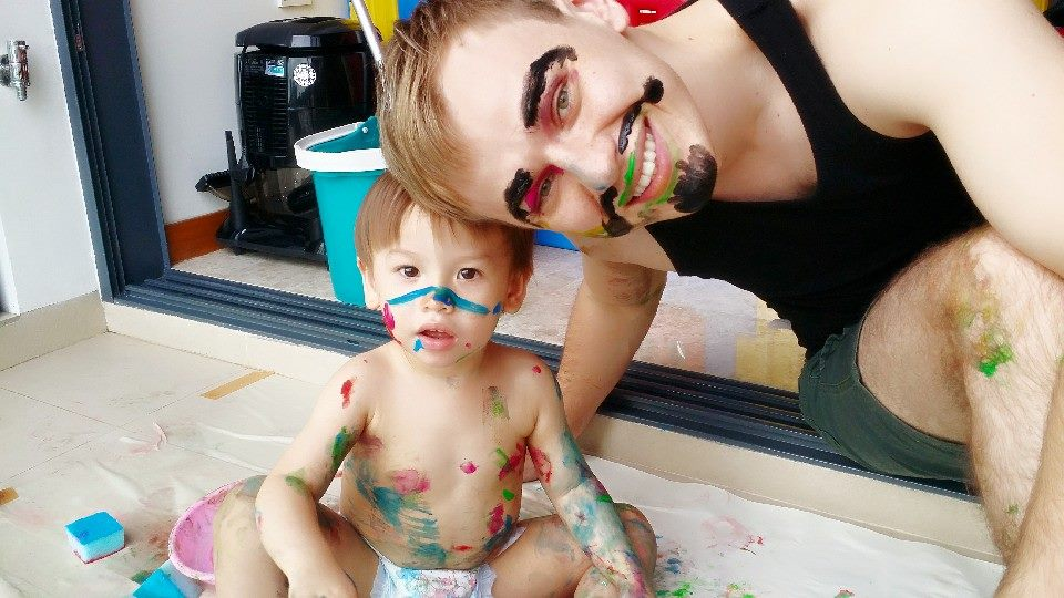 Face Painting On A Long Weekend