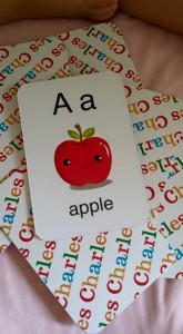 Click to purchase your very own personalized flashcards :D