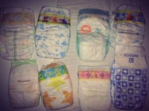 Popular Diaper Brands