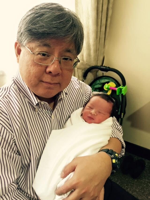 Mikhail with Grandpa