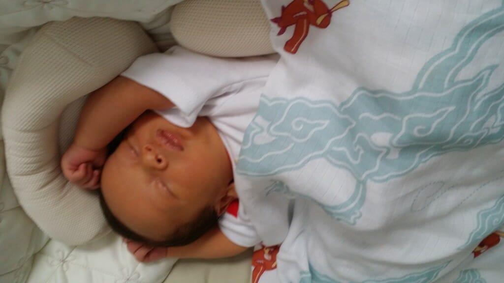 Comfortably sleeping in my Ciinolin
