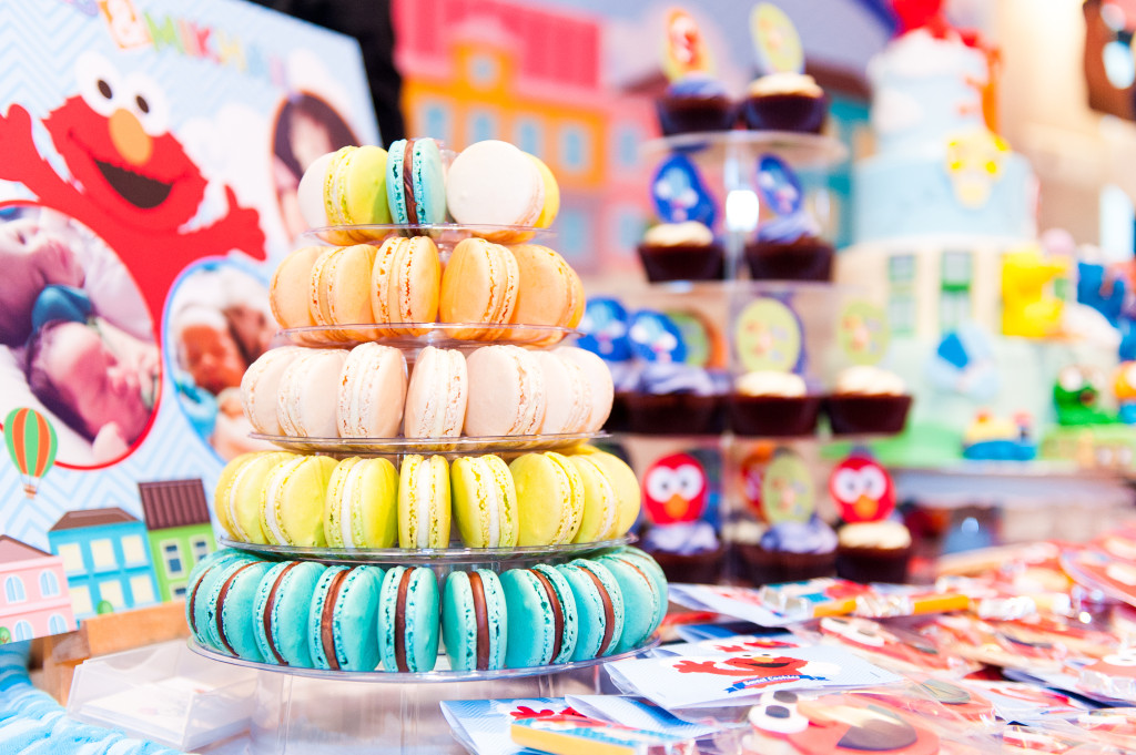 The super Yummy and Pretty Macaroons