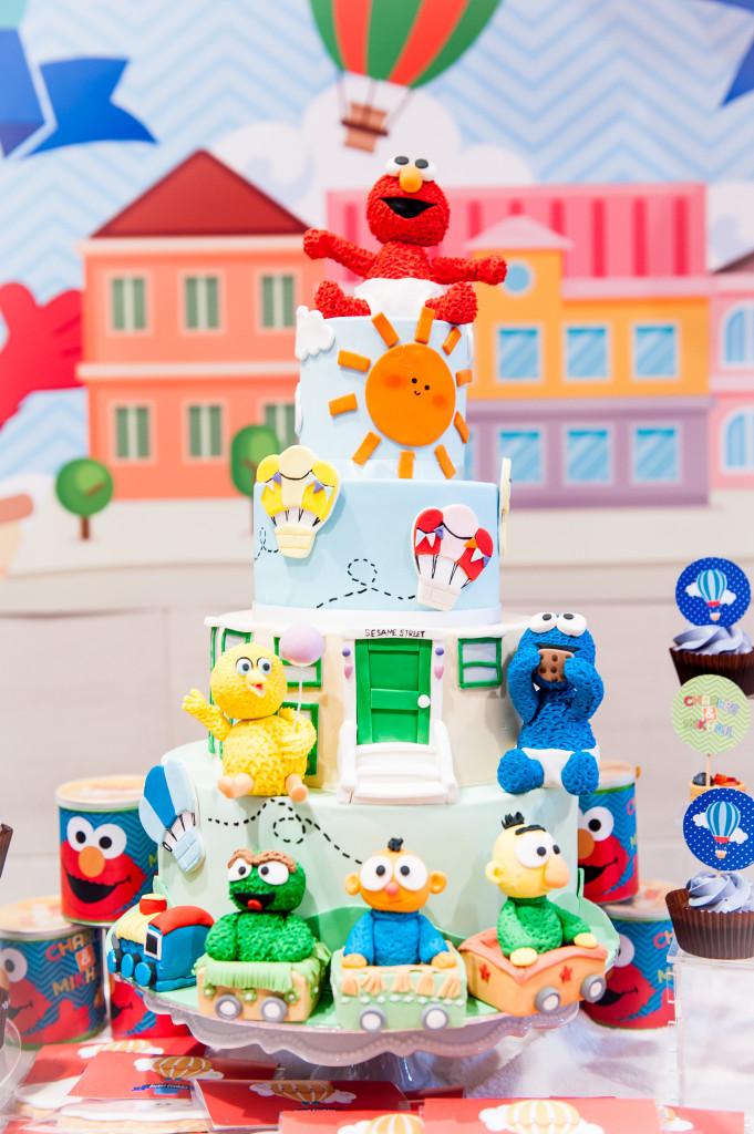 Sesame Street Babies Cake