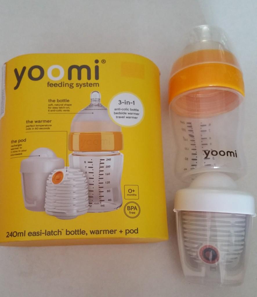 Yoomi self warming bottle