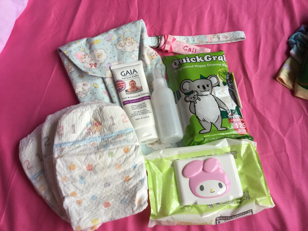 Diaper Pouch from Embroidery Garden